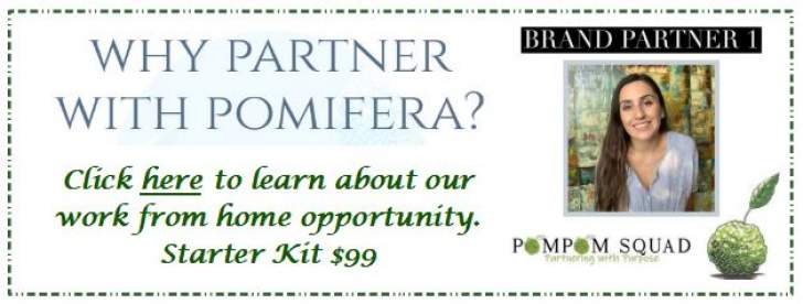Advertisement for Pomifera Work from Home